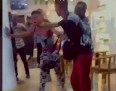 Man Beaten To Stupor After Paying With Fake Transfer At Expensive Restaurant (Video)