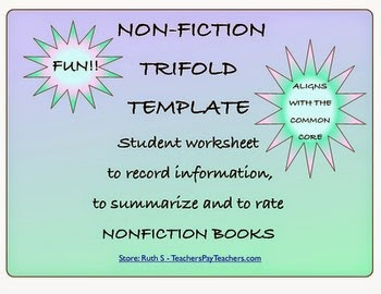 Non-Fiction Trifold Template