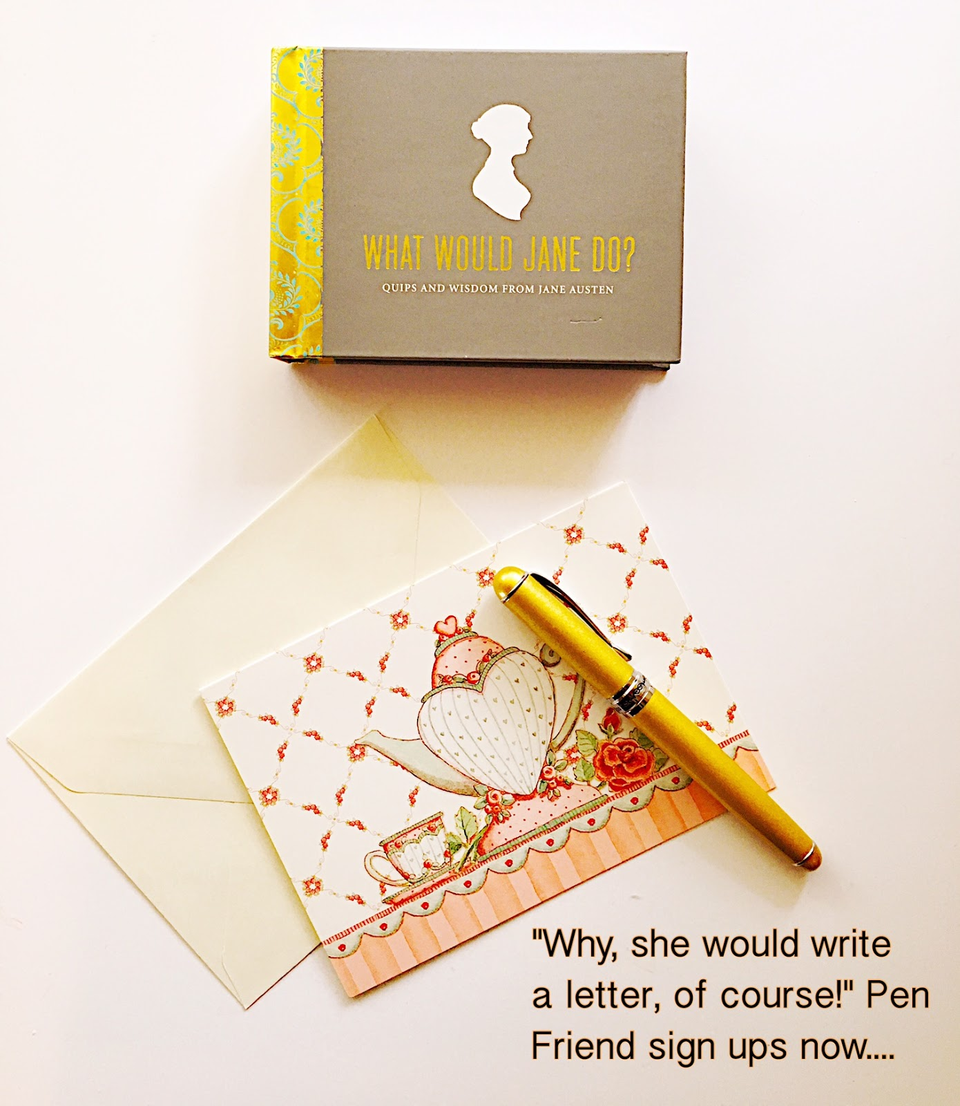 The Jane Austen Letter Writing Society: Winter Pen Friend Sign Ups NOW