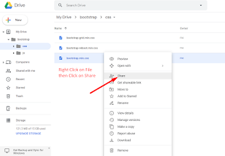How To Host Your CSS/JS On Google Drive For Your website