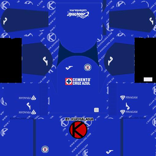 Cruz Azul 2019/2020 Kit - Dream League Soccer Kits