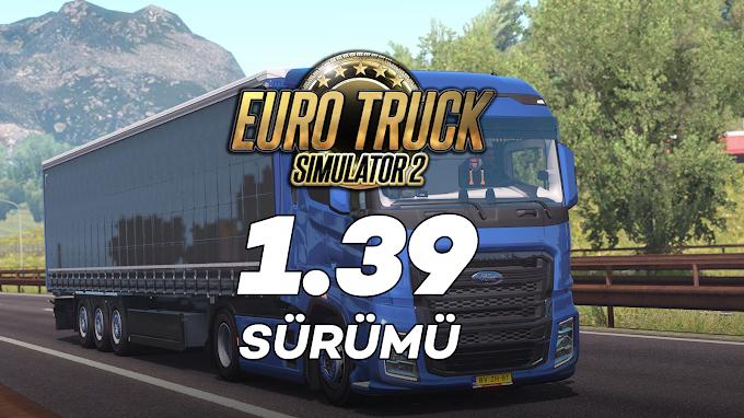 Euro Truck Simulator 2 1.39 + 72 DLC Tek Link İndir