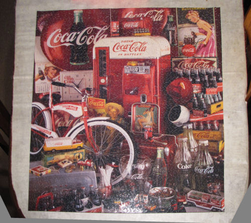 Coke puzzle completed