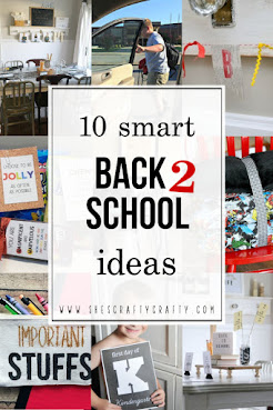 10 smart Back to School Ideas - help get your school year off to a great start with these ideas