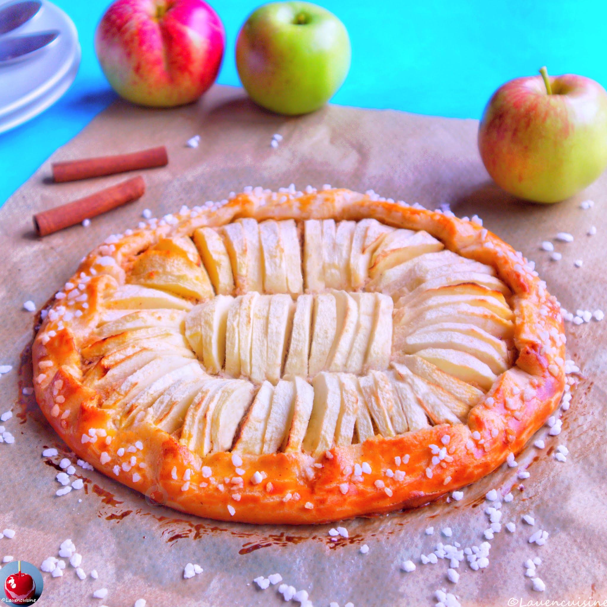 Tarte rustique aux pommes facile