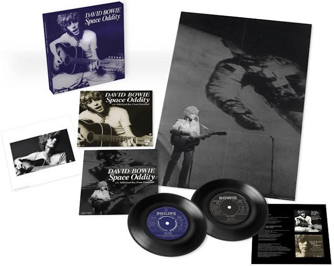 """""""Space oddity"""" de David Bowie estrena web y edición en vinilo"""