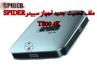 SPIDER T800 4K