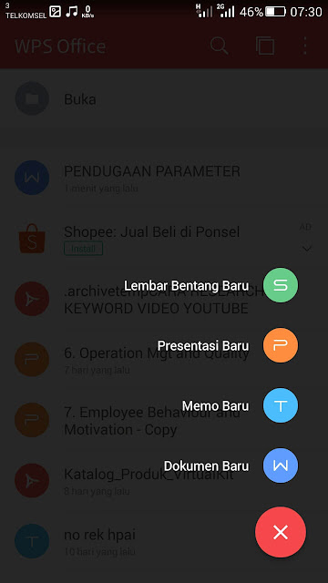 buat office android