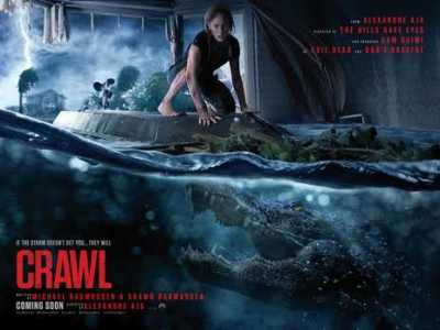 CRAWL Hindi + Eng + Telugu + Tamil 480p Full Movies 2019
