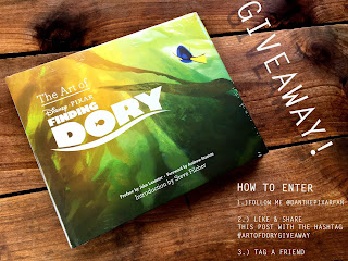 the art of finding dory giveaway