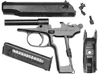 Взаимодействие частей и механизмов пистолета Макарова