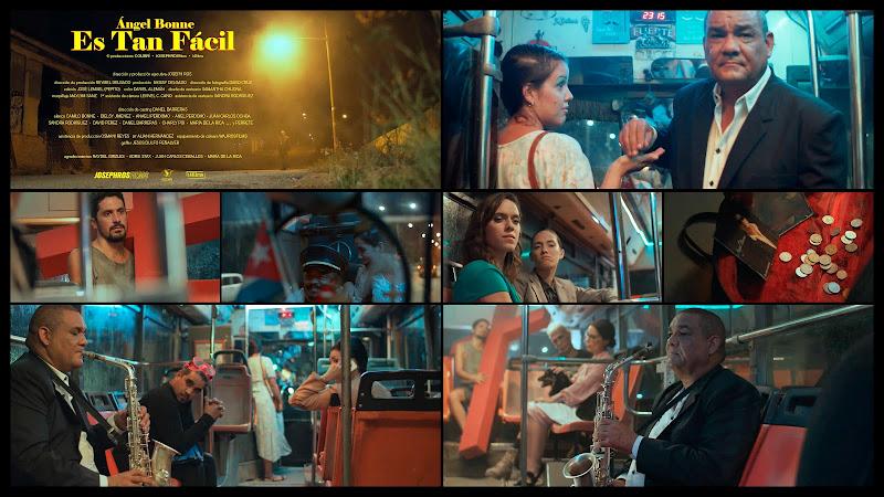 Ángel Bonne - ¨Es tan fácil¨ - Videoclip - Director: Joseph Ros. Portal Del Vídeo Clip Cubano. Música cubana. Canción. Saxofón. Cuba.