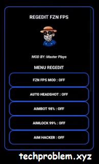 APK Regedit FZN FPS Aimlock Aimbot Auto Headshot Free Fire Antiban
