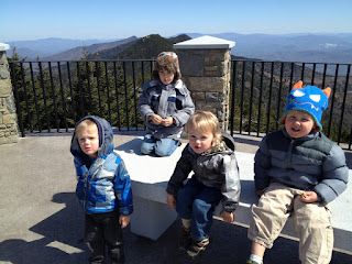 Mt. Mitchell: On Top of the World (as far as us East Coasters are concerned)