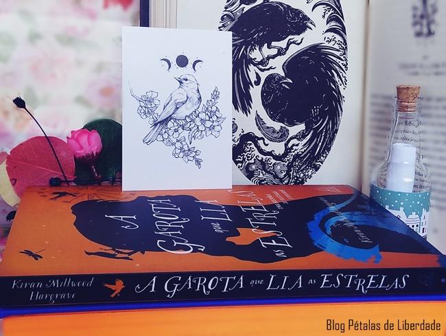 foto, livro, A-Garota-que-Lia-as-Estrelas, Kiran-Millwood-Hargrave, Editora-Jangada,blog-literario,