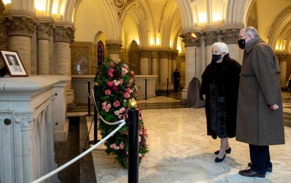 Queen Mathilde, King Albert II, Queen Paola, Princess Astrid, Princess Laetitia Maria, Princess Delphine