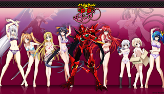 Download High School DxD Sub Indo BD (Season 1 & Season 2) + 3 OVA