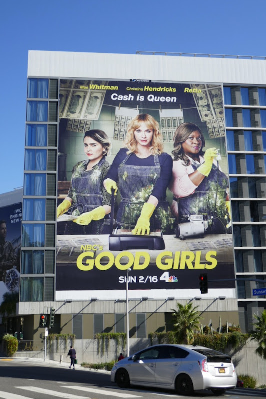 Giant Good Girls season 3 billboard