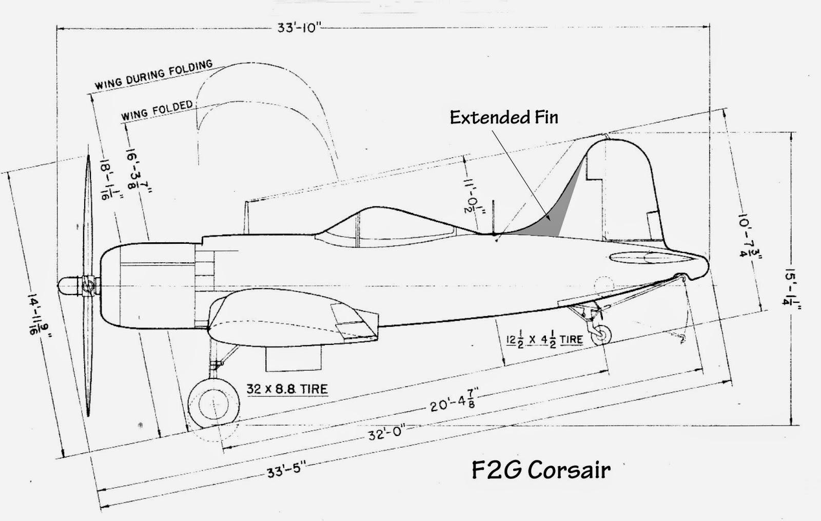 U S Navy Aircraft History Goodyear F2g Corsair Kamikaze