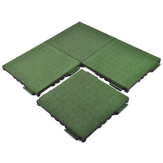 Greatmats rubber playground surface tiles