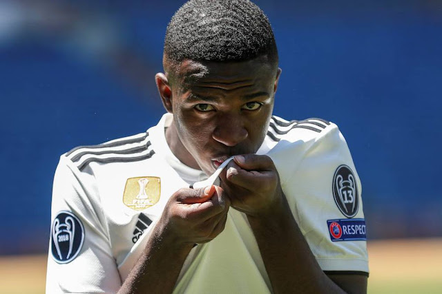 Vinicius Tolak Keputusan Real Madrid Untuk Meminjamkannya Ke Klub Lain