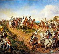 Independência ou Morte. Tela do artista paraibano Pedro Américo, pintada em 1886, sob encomenda do então imperador do Brasil, D. Pedro II.