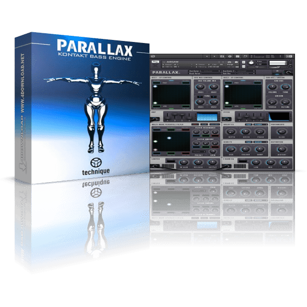 Parallax Drumsound & Bassline Smith KONTAK Library