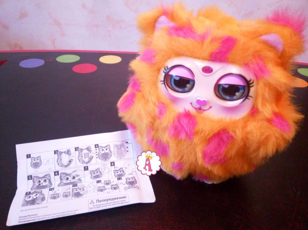 Инструкция к интерактивной сове игрушка Tiny Furries Mama Furry