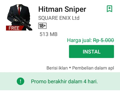 Game aksi Hitman Sniper