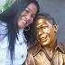 La hermosa foto de Nevis Troya visitando la tumba de su hijo Kaleth Morales