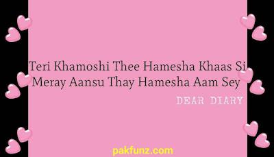 Dear Diary Sad Love Quotes and Shayari HD Images 3