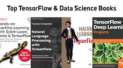 Top TensorFlow & Data Science Books   PDF Free Download