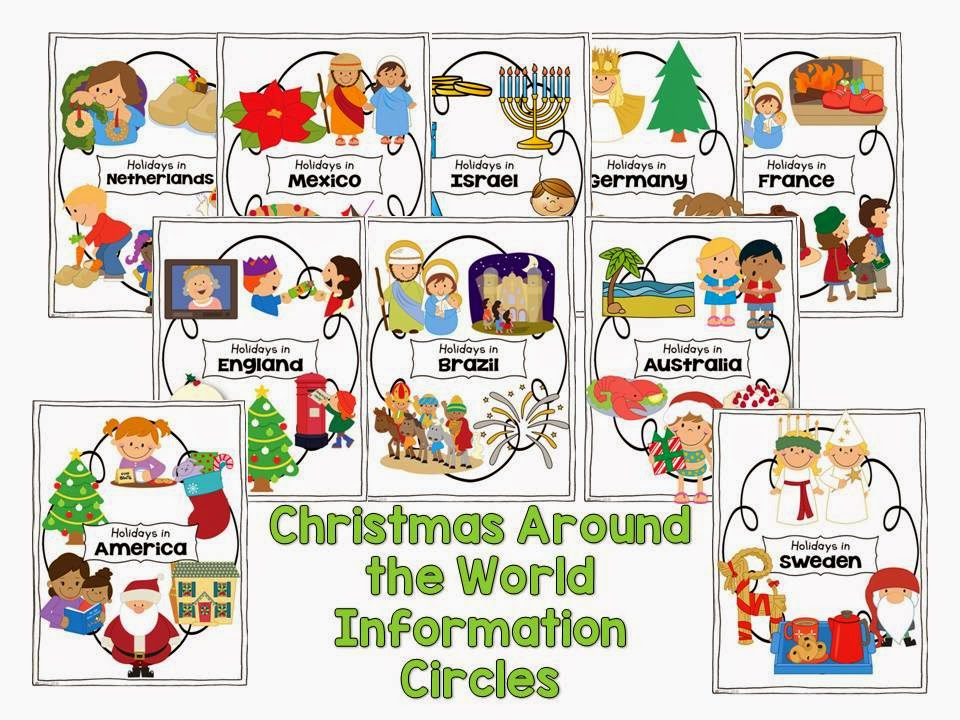 Christmas Around the World- diversity activities with a FREEBIE included