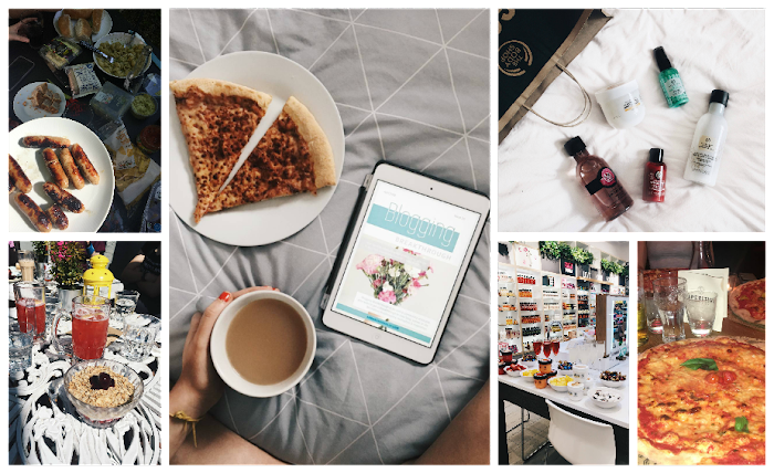 A lifestyle roundup of my week at university featuring all I've bought, watched, eaten, seen and been up to. Featuring writing for a blogging magazine, a sunny bbq and a body shop bloggers event
