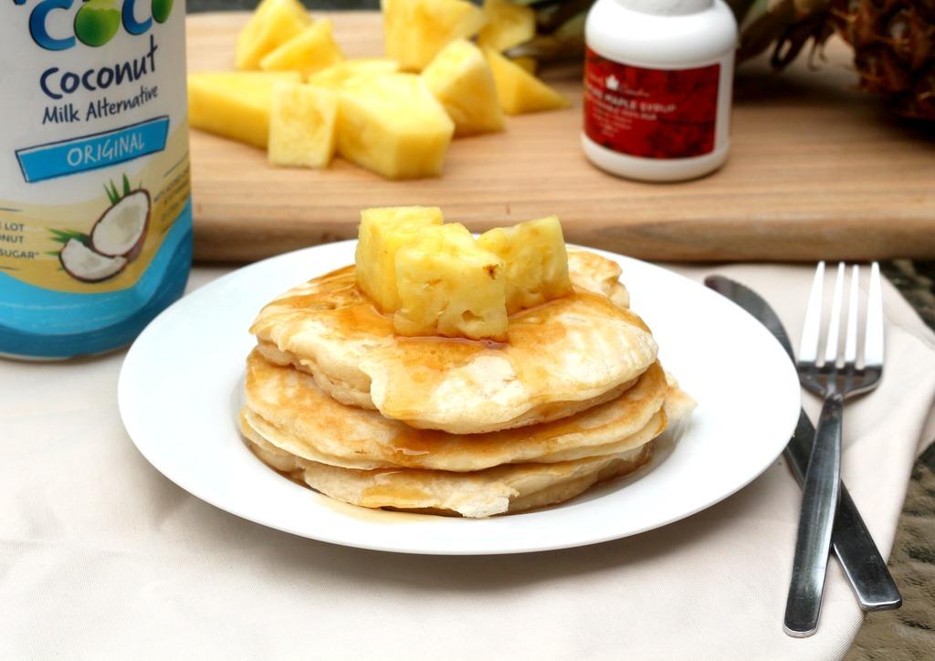 Dairy free pineapple pancakes ccuart Gallery