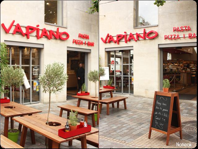 Le restaurant Vapiano de Bercy Village