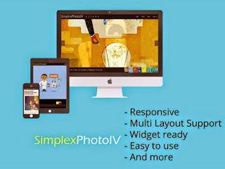 Simplex Photo IV - A Photographer Blogger Template