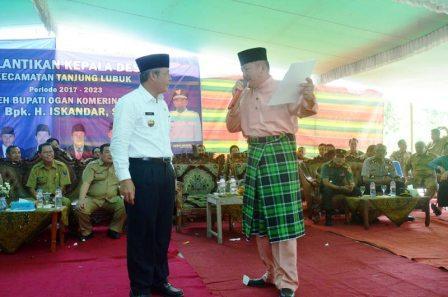 Bupati Iskandar Terima Gelar Adat Kehormatan Marga Bengkulah