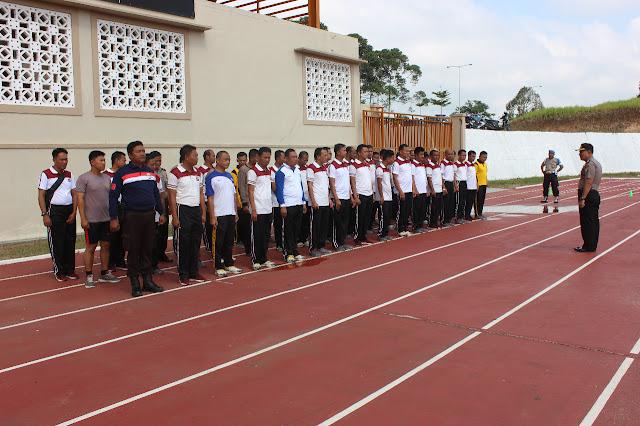 Kapolres Lampung Barat Fasilitasi Latihan Gratis Kepada 107 Personil Yang Memenuhi Persyaratan SIP