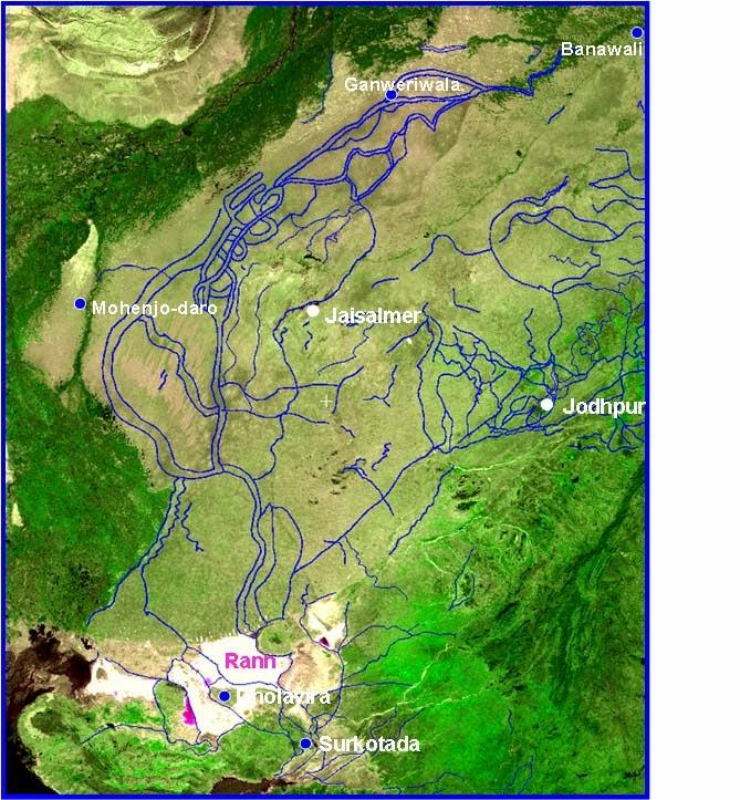 Image result for wifs sarasvati river