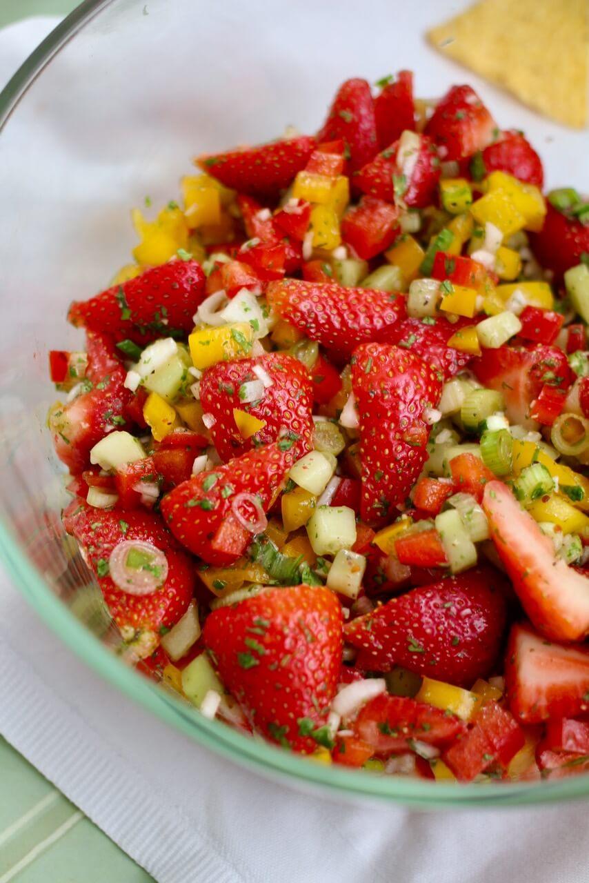 Erdbeersalsa Rezept
