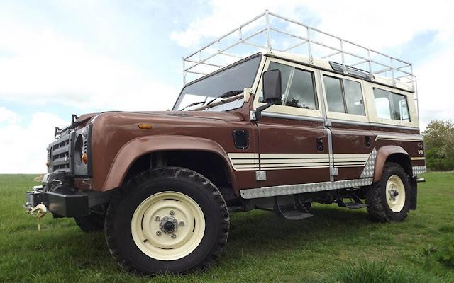 Defender 110 là một trong những dòng xe biểu tượng của Land Rover