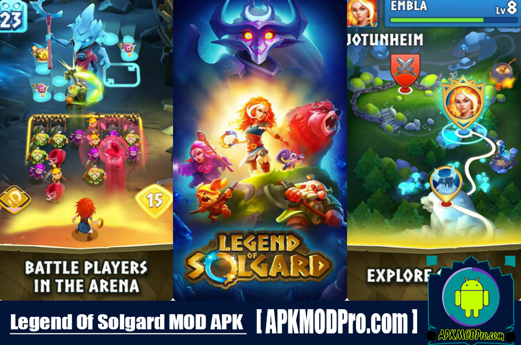 Legend of Solgard MOD APK 2.5.1 (Unlimited Energy) For Android