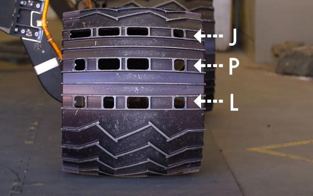 Mensagem Secreta em código Morse no rover Curiosity da NASA