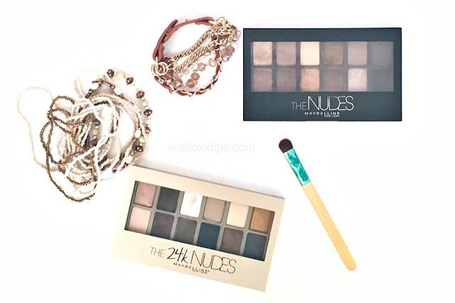2 great Maybelline Paris eye shadow palettes | @arelaxedgal