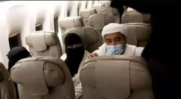 Habib Rizieq Sebut Dikerjai Sesaat Sebelum Terbang ke RI, Singgung Bajingan
