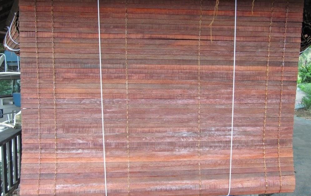 Mành gỗ ngoài trời