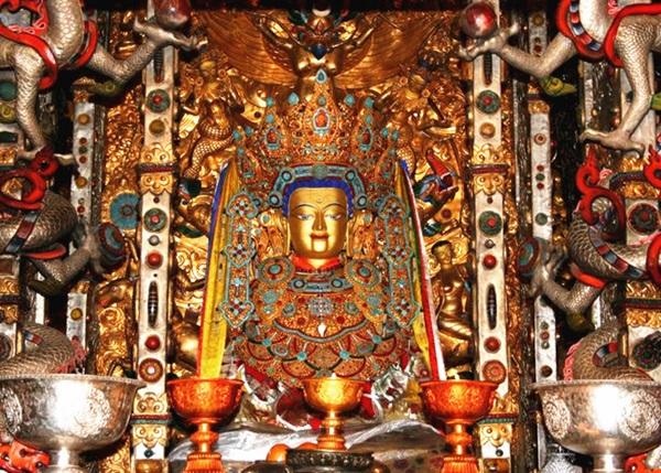 วัดโจคัง (Jokhang Monastery: Jokhang Temple: Dazhao Si: 大昭寺: ཇོ་ཁང)