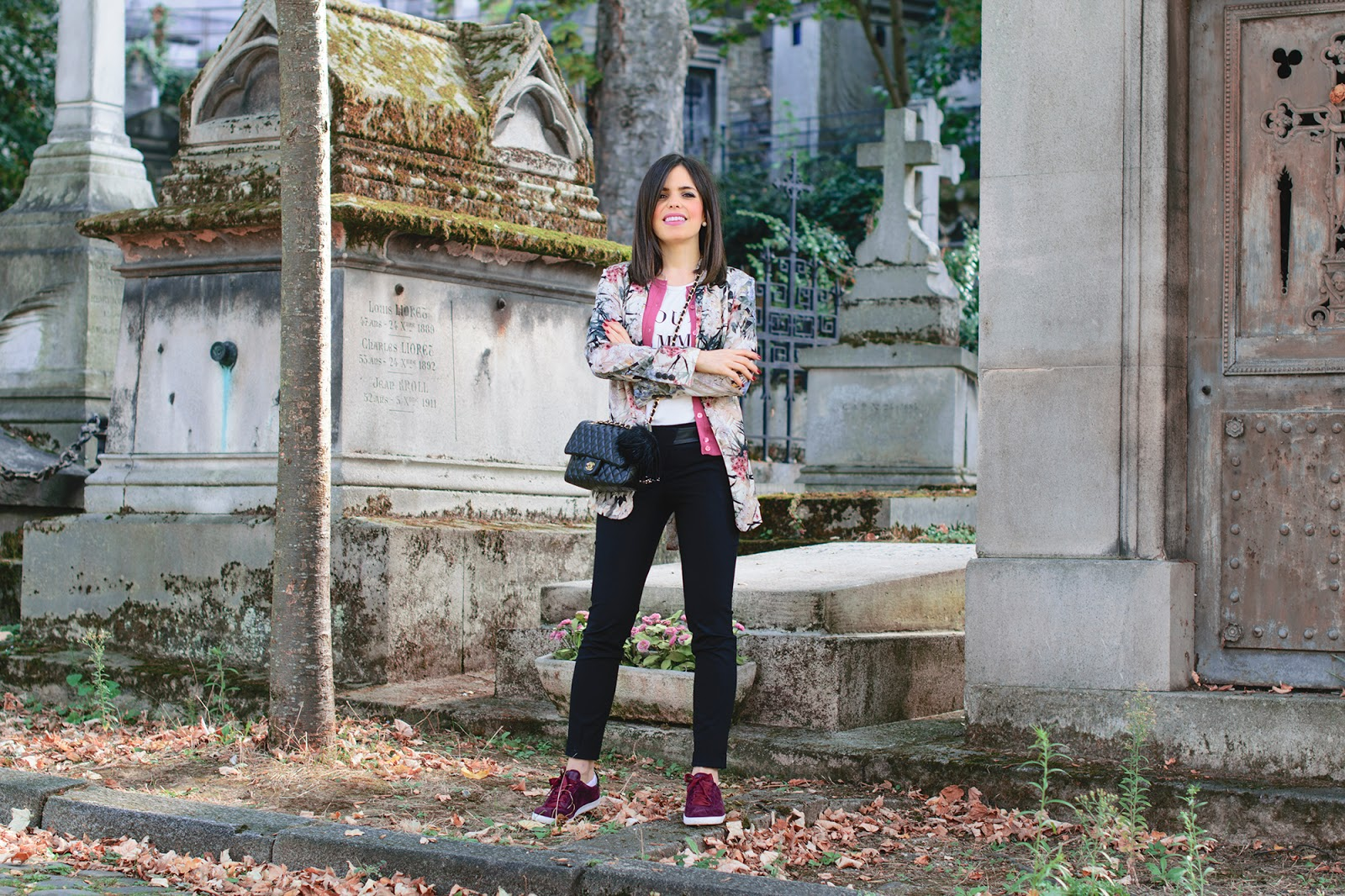 Paseo por Père Lachaise en París