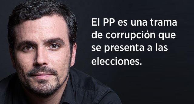 """Garzón: """"He visto llorar por la corrupción a Esperanza Aguirre y me ha dado vergüenza ajena"""""""